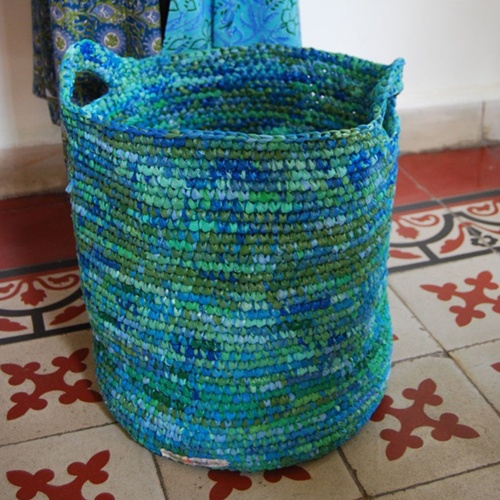 A basket for clothes
