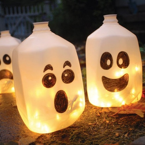 Top 10 Great Ideas For Recycled Halloween Decorations