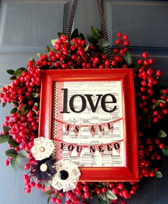 saint valentine's decor