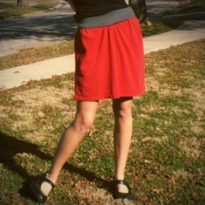Tshirt Skirt