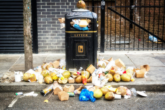 Uk waste is Going Up, Up, Up