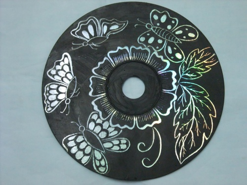 CDs Scratch Art