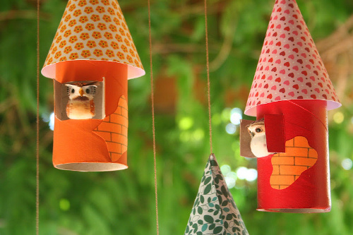 Toilet Paper Roll Birdhouse