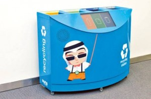 Interactive Waste Bin