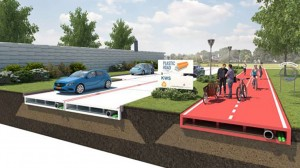 Plastic roads made from recycled plastic will ultimately improve waste collection.