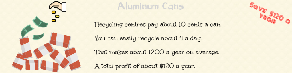 aluminum cans recycling for money