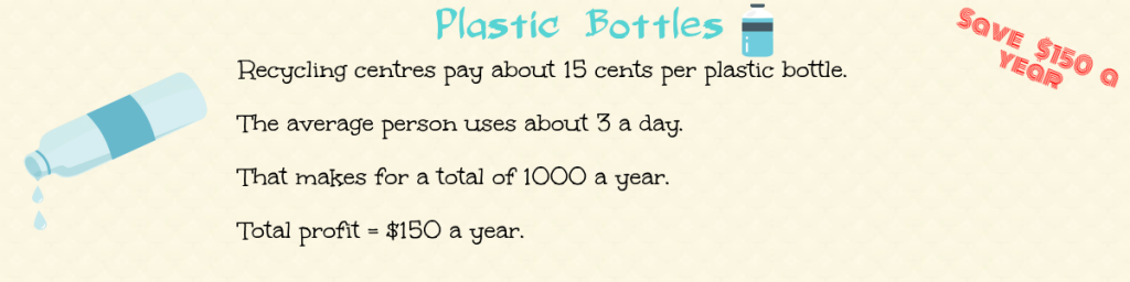 recycle plastic bottles for cash