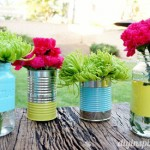 Recycled-Can-and-Mason-Jar-Centerpiece-Dinah-Wulf