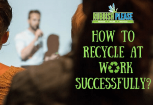 Recycle at work training