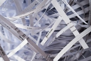 Paper that could be recycled