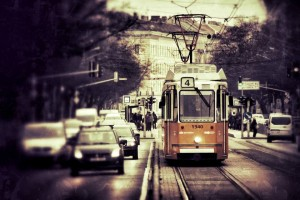 More than 10 cars transporting less passengers than a single tram would
