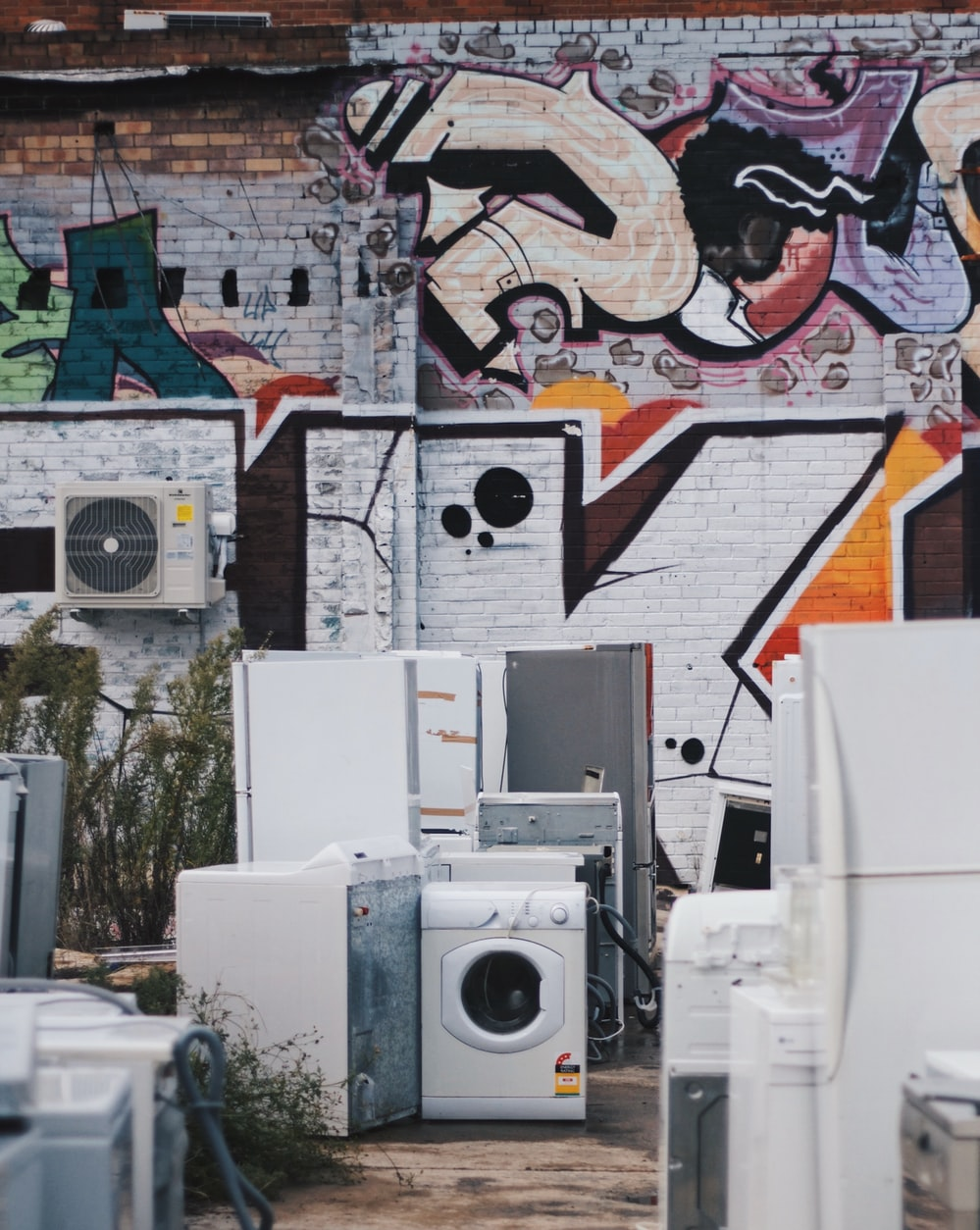 Kitchen appliances to dispose