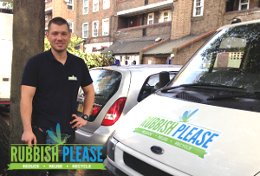 Our professional rubbish removal London team